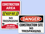 Looking for Construction Zone Signs?