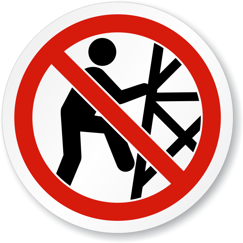 Iso Prohibited Action Signs Iso Prohibition Symbols