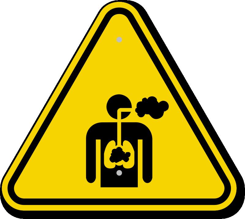 Iso Inhalation Hazard Warning Sign Symbol Best Prices Sku Is