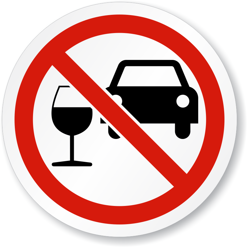 Do Not Drink And Drive Iso Prohibition Sign Sku Is 1095