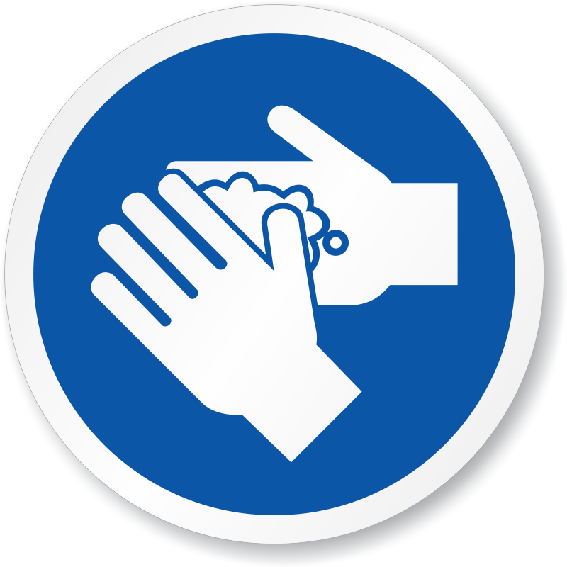 Hand Washing Safety Symbol Images
