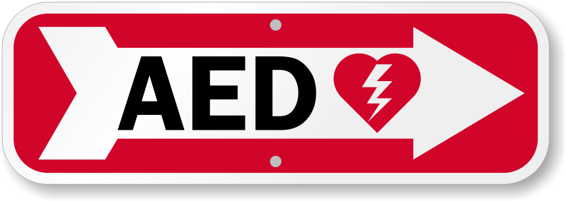 Aed Signs Aed Wall Signs Aed Stickers Labels