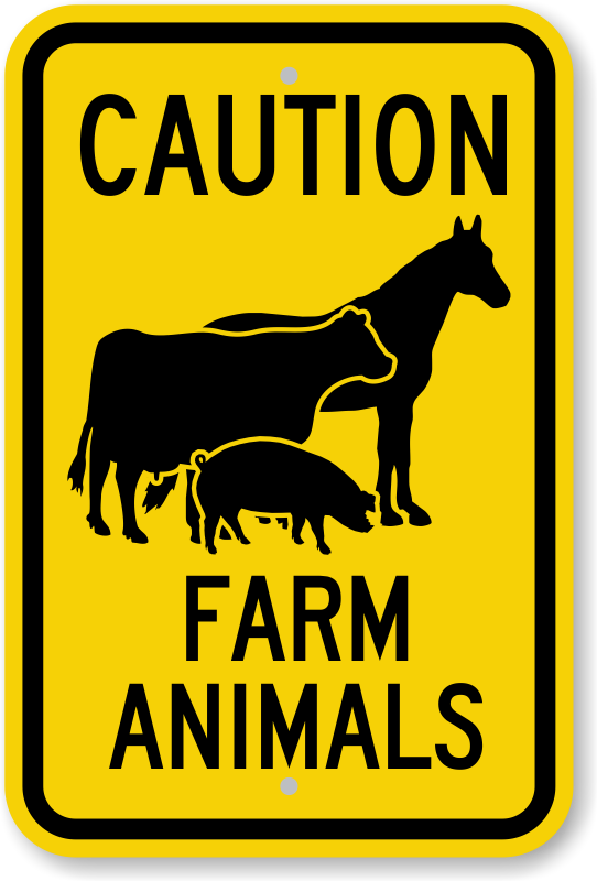 Farm Safety Signs Safety Signs For Farms