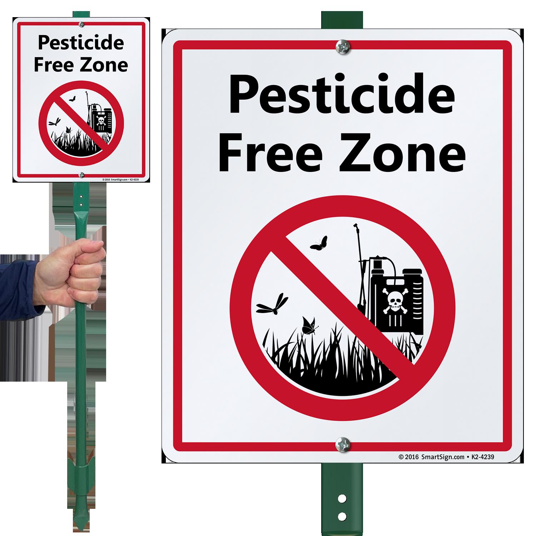 Pesticide Free Zone LawnBoss Sign