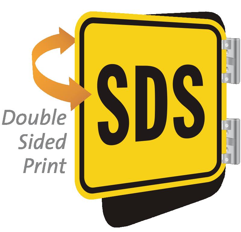 SDS 2-Sided Sign