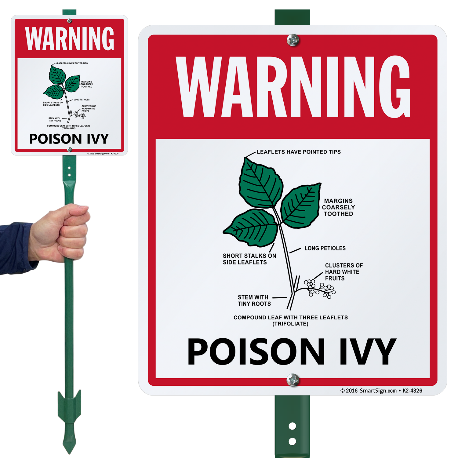 Poison Ivy Warning Signs Poison Oak Warning Signs