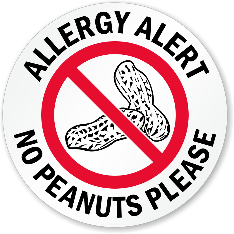 Image result for no peanuts