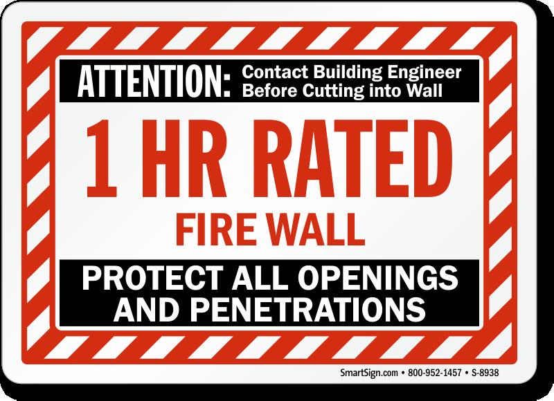 firewall penetrations Construction