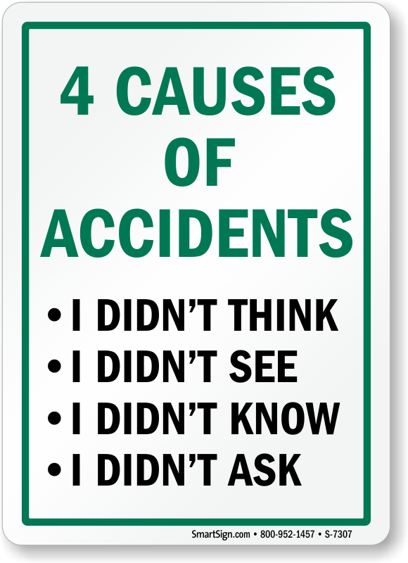 causes of workplace accident Top 10 most common workplace injuries posted by julie copeland ceo each week,  head injuries are a common result of this type of accident.