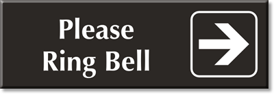 Ring Bell Signs Ring Bell For Deliveries Signs