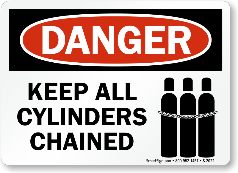 Keep All Cylinders Chained Sign Sku S 2022