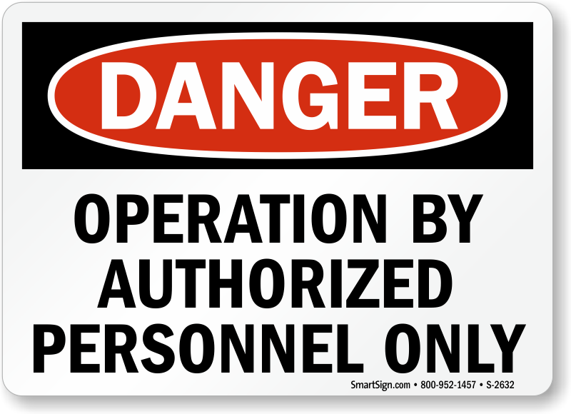 Danger  Operation By Authorized Personnel Only Sign, Sku. Line Art Banners. Beachy Murals. Website Traffic Banners. Neurodivergent Narwhal Signs. Score Signs Of Stroke. Literature Signs Of Stroke. Specific Signs. Multimedia Banners