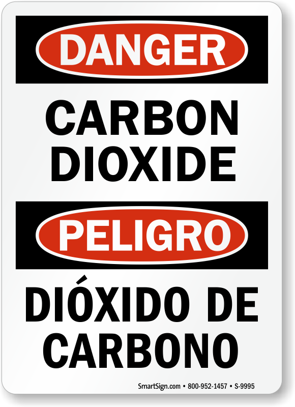 Carbon Dioxide Signs Carbon Dioxide Warning Signs