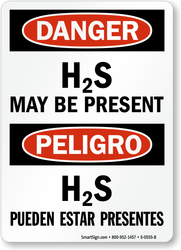 hydrogen sulfide signs h2s signs flammable chemicals. Black Bedroom Furniture Sets. Home Design Ideas