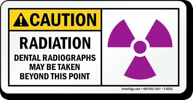 Radiation Warning Signs X Ray Radiation Warning Signs