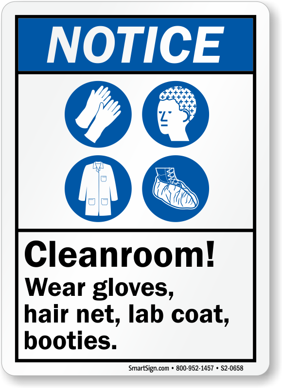 Clean Room Ppe