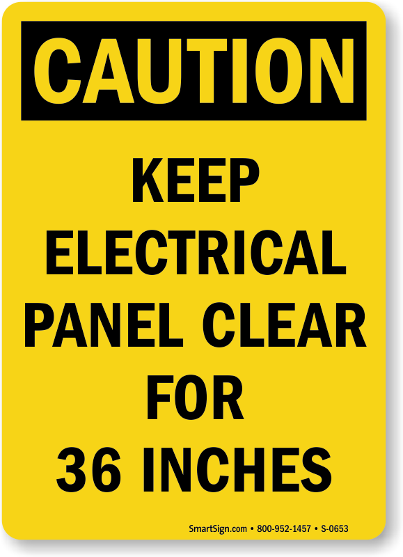 Electrical Hazard Caution Signs Mysafetysign Com