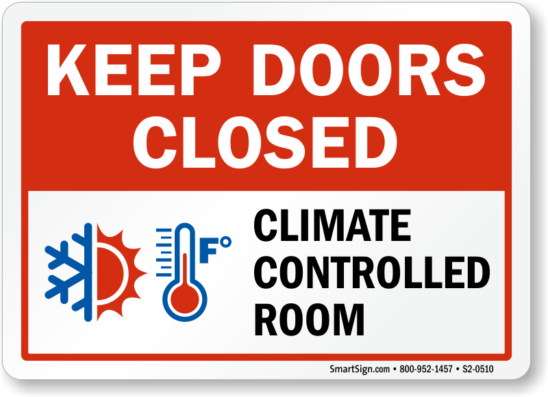 Eloquent image pertaining to keep door closed sign printable
