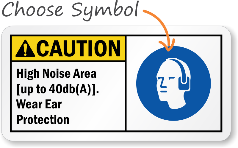 Hearing Protection Signs Hearing Protection Required Signs