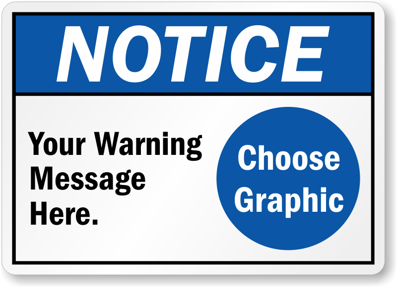 notice sign template word koni polycode co