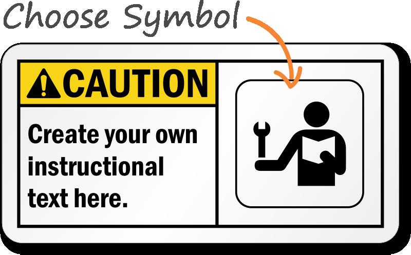 Machine Hazard Signs Free Shipping From Mysafetysign