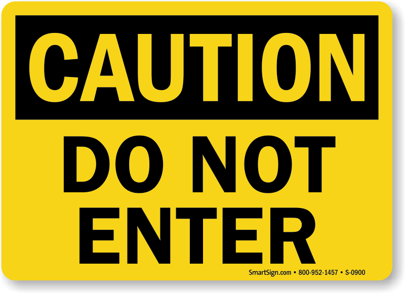 Free Safety Signs Printable Sign PDFs
