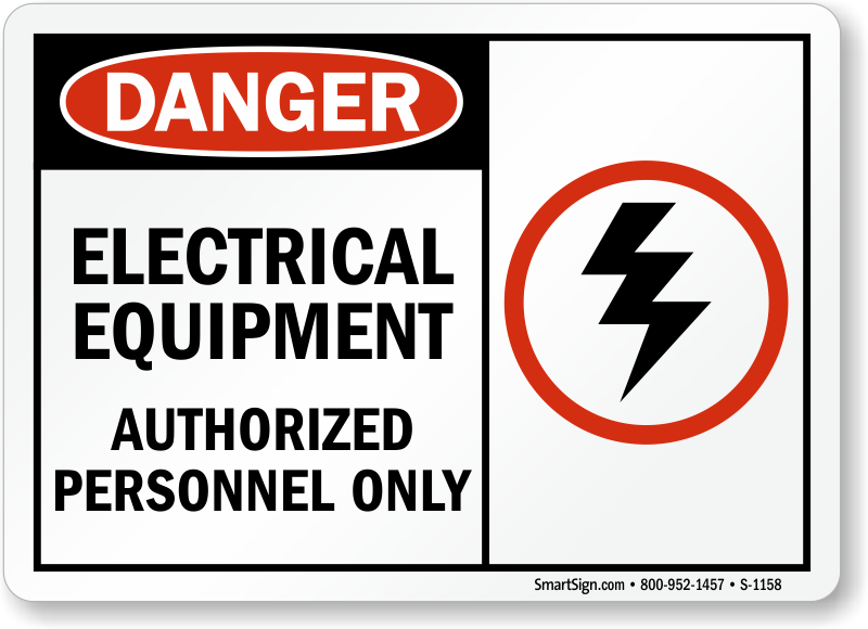 Electrical Equipment Signs Mysafetysign Com