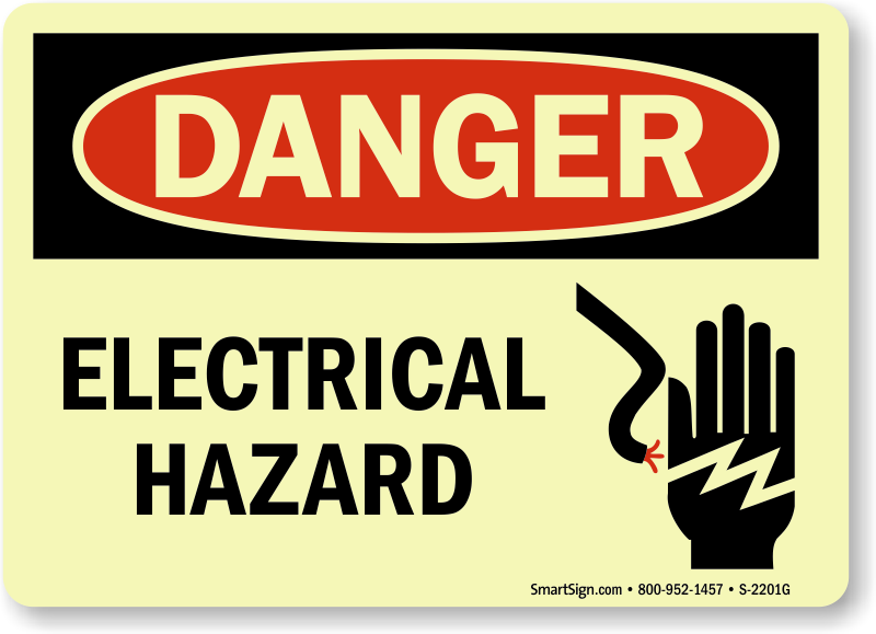 electrical hazard signs electrical hazard warning signs rh mysafetysign com