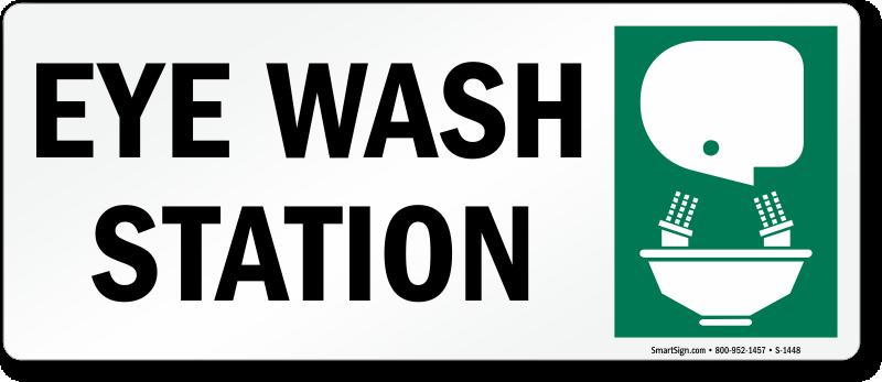 eyewash station sign with graphic download free pdf sku s 1448