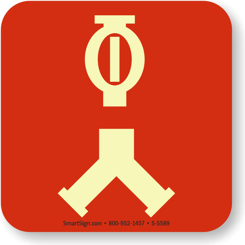 Nfpa 170 Signs Fire Safety Symbol Signs