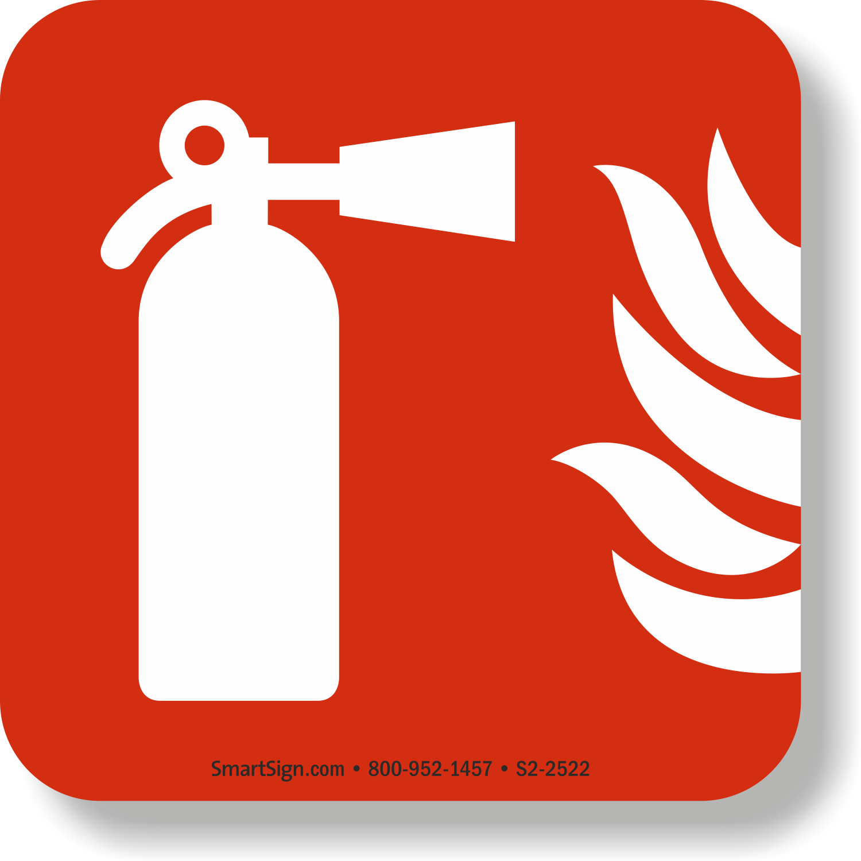 GlowSmart™ Fire Extinguisher Emergency Marker Sign