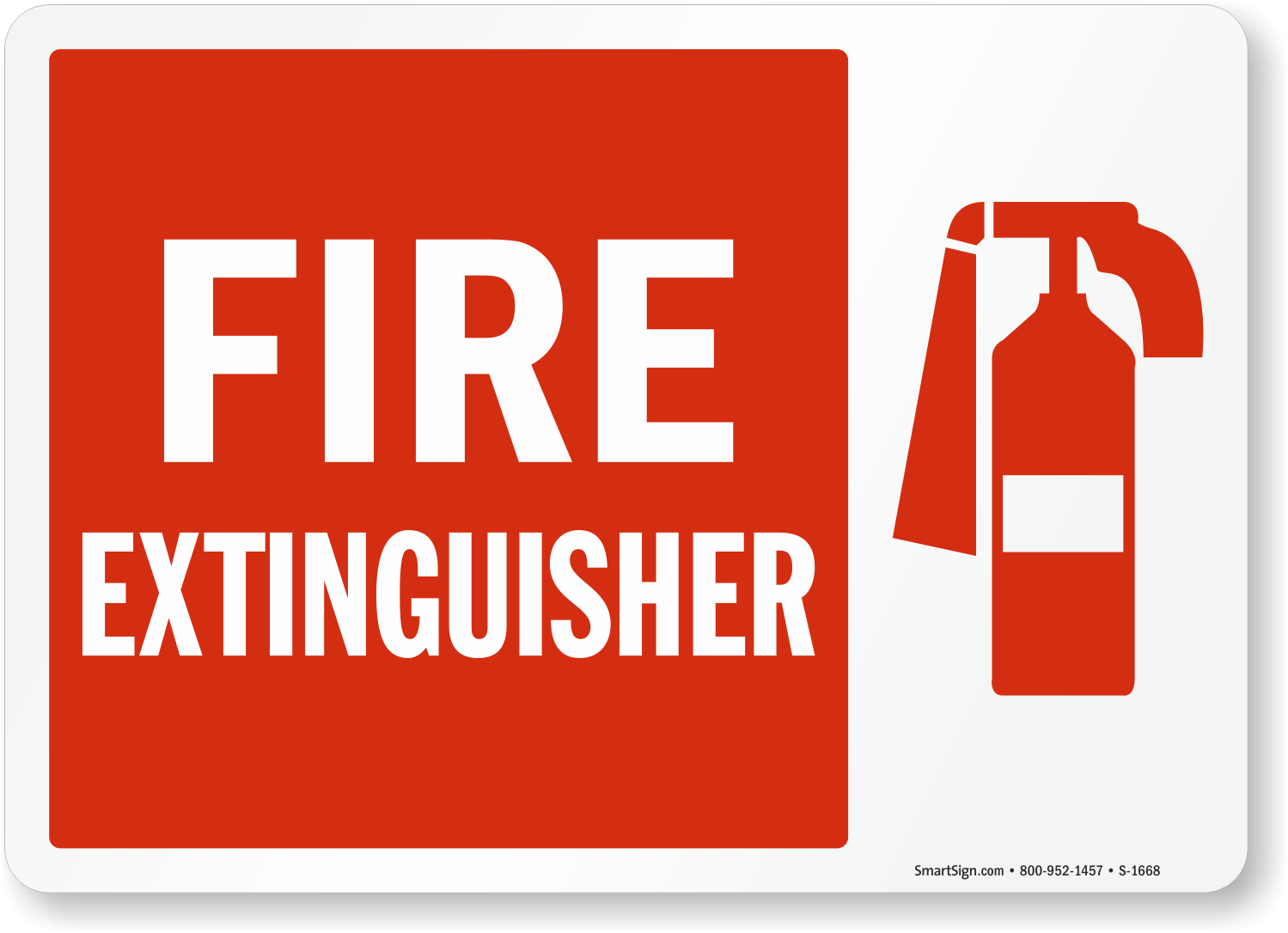 Fire Extinguisher Sign Sku S 1668 Mysafetysign Com