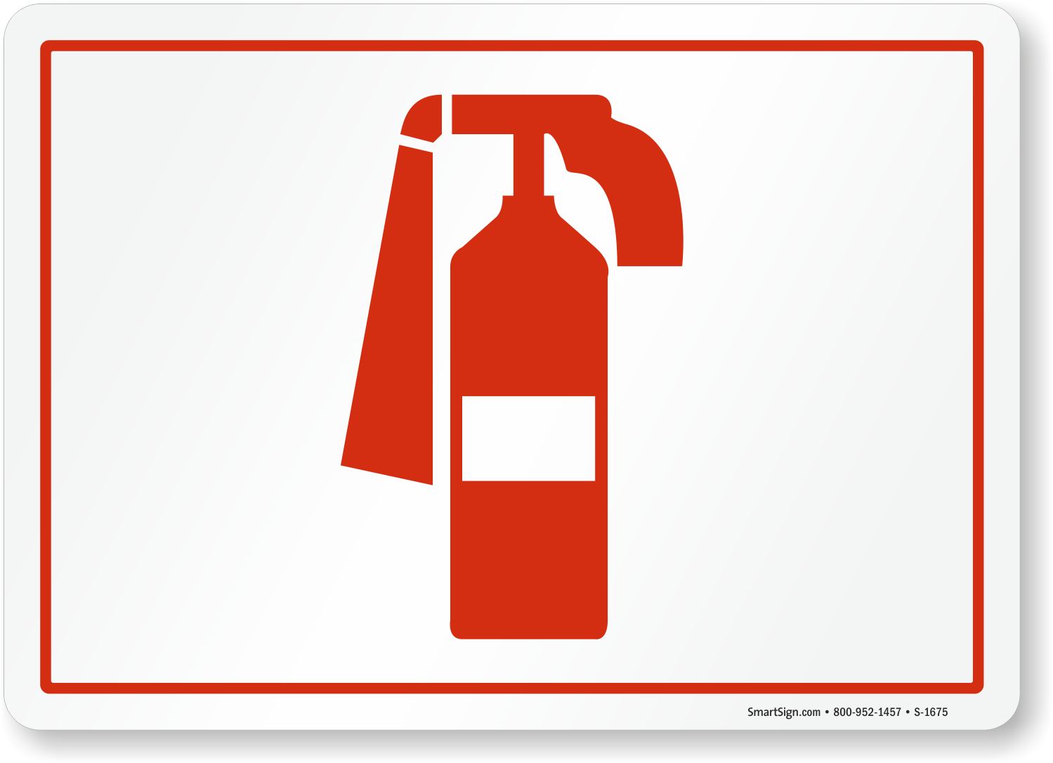 Fire Extinguisher Symbol Sign Sku S 1675 Mysafetysign