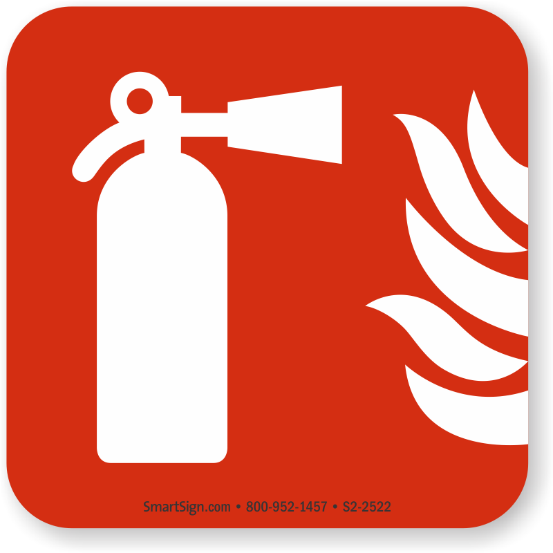 Fire Extinguisher Symbol Nfpa 170 Sign Sku S2 2522 Mysafetysign