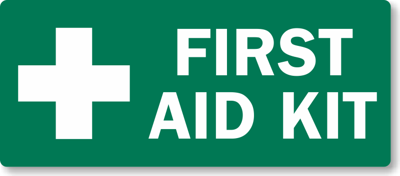 First Aid Kit Sign Printable