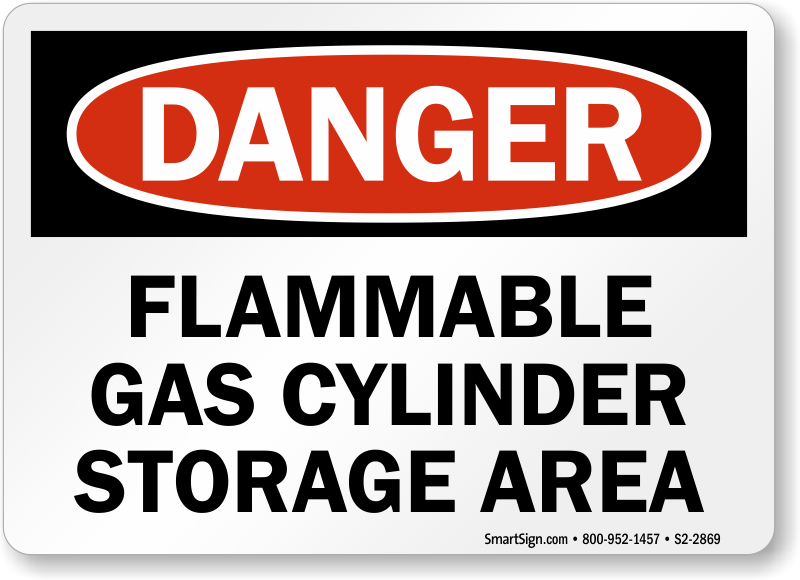 Flammable Cylinder Sto...