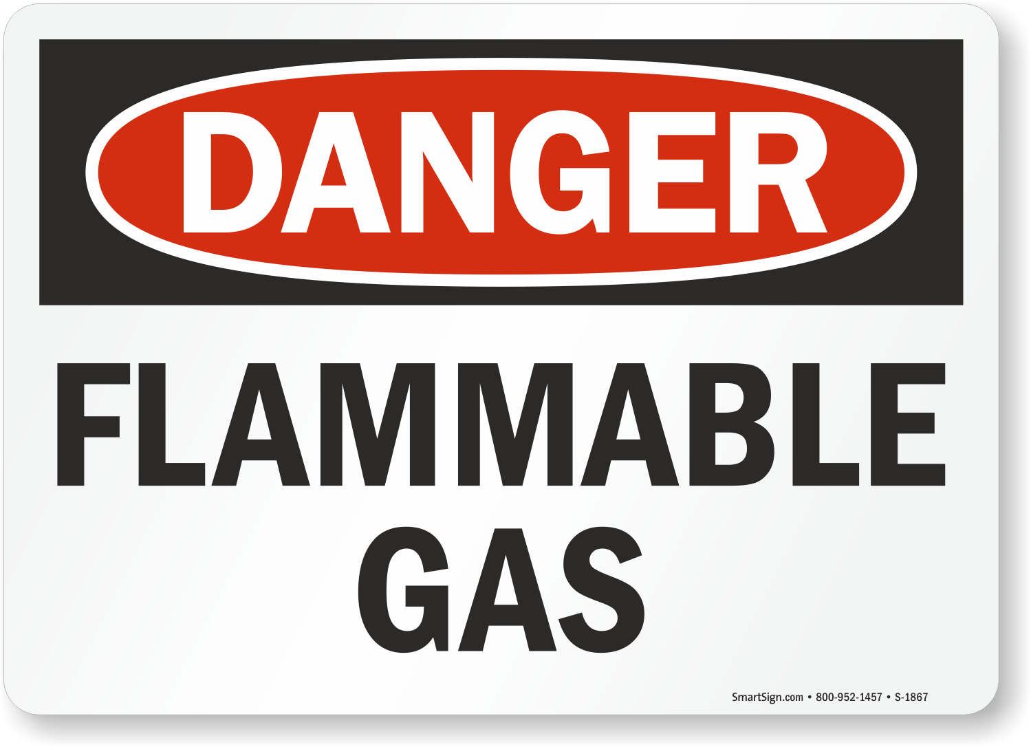 Flammable Osha Danger Sign Low Prices Sku S 1867