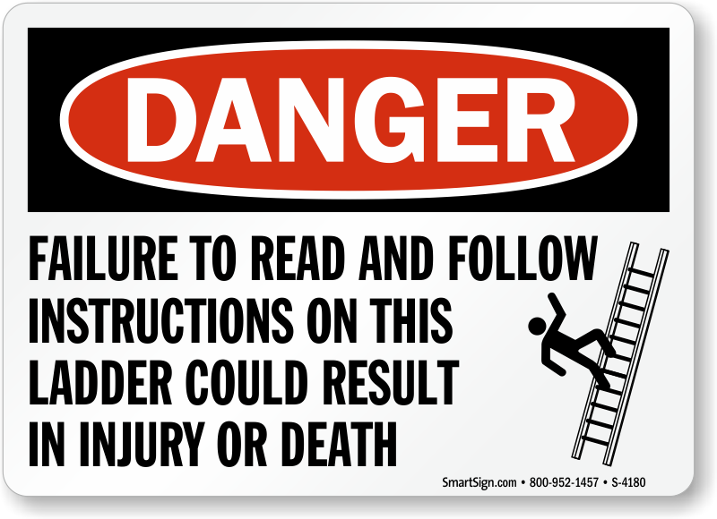 failure to follow instructions