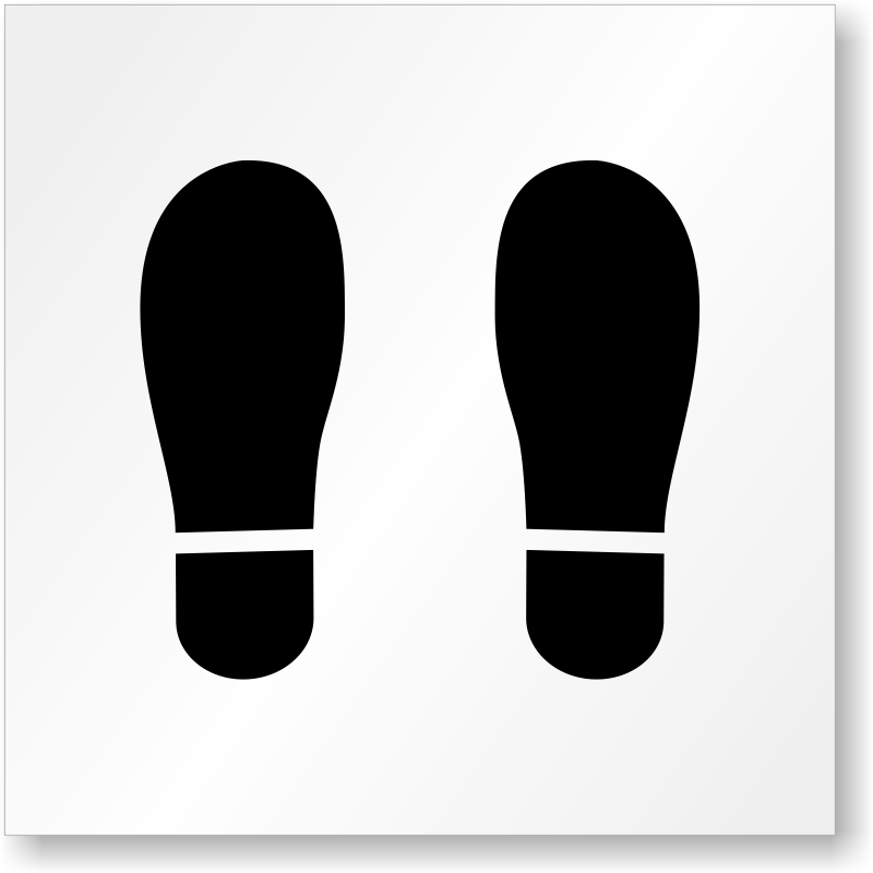 footprint symbol floor stencil   find more pavement fire extinguisher clipart images fire extinguisher clipart images