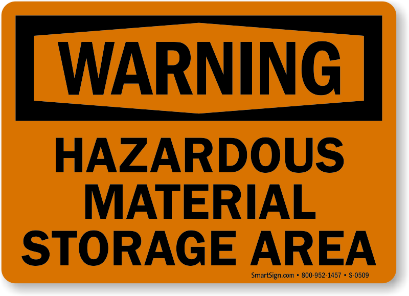 know how to handle hazardous substances and materials