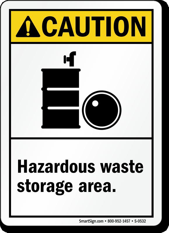 Hazardous Storage Area Signs Mysafetysign Com