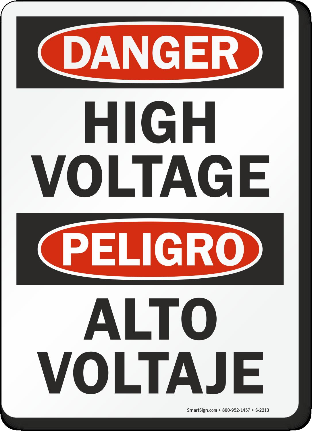 Bilingual Signs And Labels English Amp Spanish Bilingual Signs