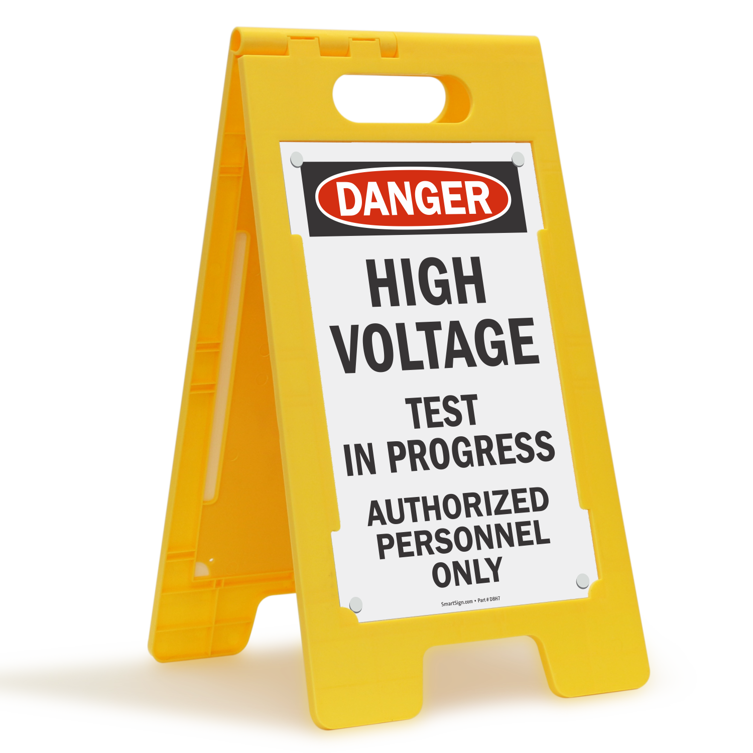 High Voltage Testing : Testing in progress signs tags mysafetysign