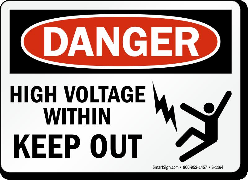High Voltage Signs Mysafetysign Com