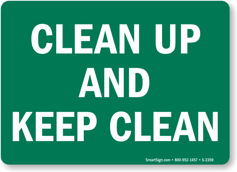 Keep Clean Sign Up And S 2359 Learn More