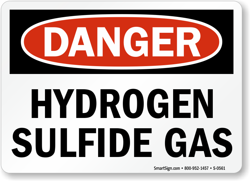 Hydrogen Sulfide Signs H2s Warning Signs