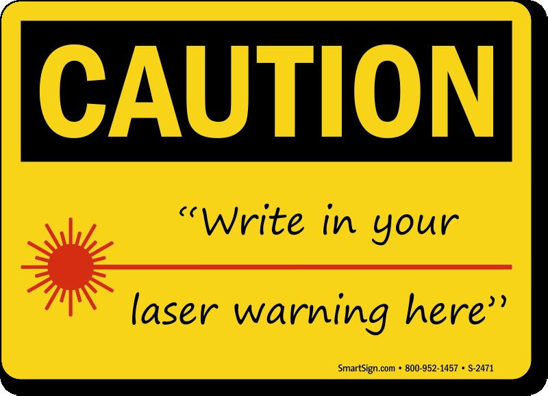 Laser Warning Signs Laser Safety Signs