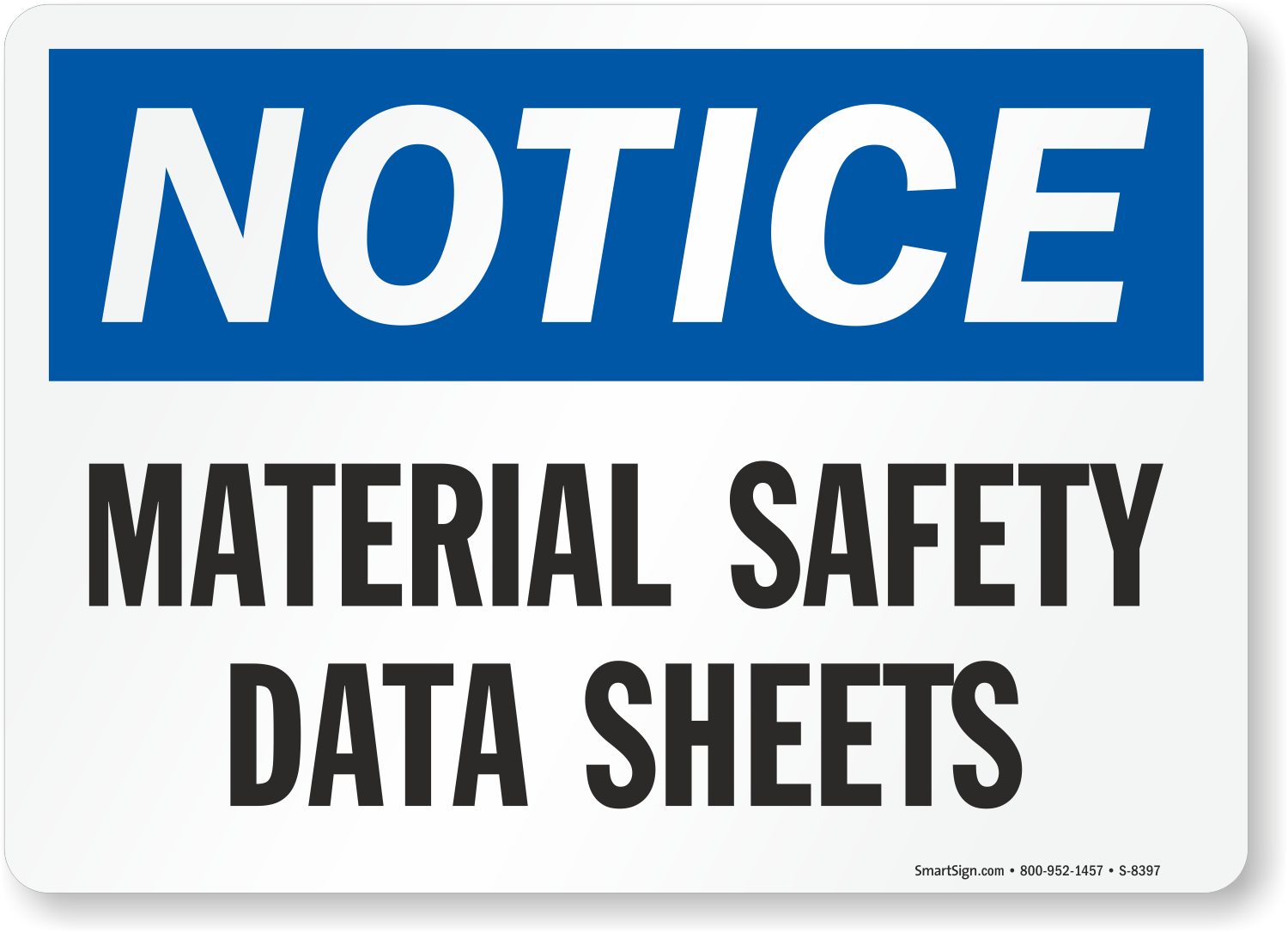 Zoom Price Buy  sc 1 st  MySafetySign.com & SDS Signs | MSDS Signs | Material Safety Data Sheet Signs