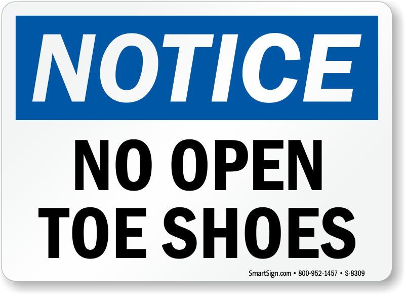 Open Toe Shoes In The Workplace