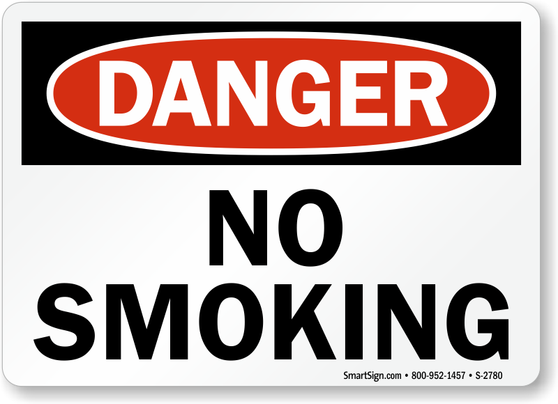 Printable No Smoking Signs - Free - MySafetySign.com